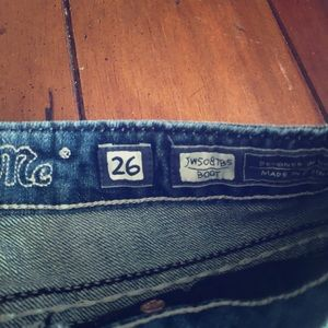 Miss me jeans size 26 boot cut